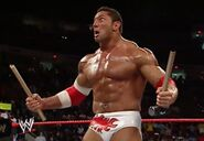 RAW 3-7-05 Batista