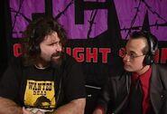 Joey Styles & Mick Foley