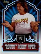 2011 Topps WWE Classic Wrestling Rowdy Roddy Piper 88