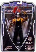 Jeff Hardy (Cyber Sunday) Jakks Figure