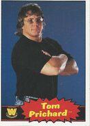 2012 WWE Heritage Trading Cards Tom Prichard 107