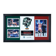 Alberto Del Rio WrestleMania 29 Signed Commemorative Plaque