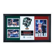 Alberto Del Rio WrestleMania 29 Signed Commemorative Plaque