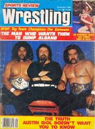 Sports Review Wrestling - September 1980