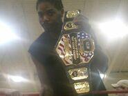 Horace White as N.E.W. Tag Team Champ