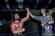 Joe Coffey in ring