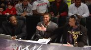 Michael Cole, Josh Mathews & Booker T