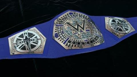Neville receives custom plates for his new WWE Cruiserweight Title Exclusive, Jan. 30, 2017