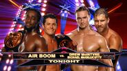 Air Boom vs Drew McIntyre & Michael McGillicutty