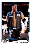 2014 WWE (Topps) Curt Hawkins 63