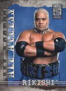 2002 WWF All Access (Fleer) Rikishi 24