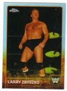 2015 Chrome WWE Wrestling Cards (Topps) Larry Zbyszko 84