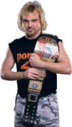 Spike Dudley as european champiion