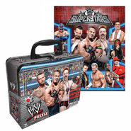 WWE Superstars Puzzle with Collectible Lunch Tin