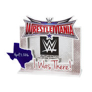 WrestleMania 32 Standee Picture Frame