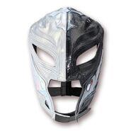 Rey Mysterio Silver & Black Replica Mask