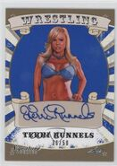 2016 Leaf Signature Series Wrestling Terri Runnels 80