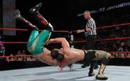 Chavo flipping Yoshi Tatsu