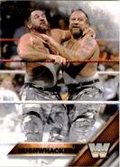 2016 WWE (Topps) The Bushwhackers 58