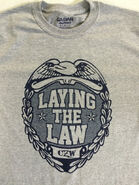CZW Laying The Law T-Shirt