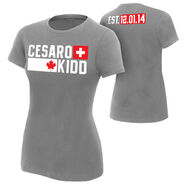 Cesaro & Tyson Kidd Established Women's Authentic T-Shirt