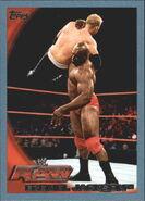 2010 WWE (Topps) Ezekiel Jackson 27