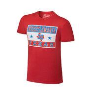WrestleMania 32 Texas Red T-Shirt