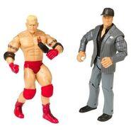 WWE Adrenaline Series 11 Paul Heyman & Heidenreich