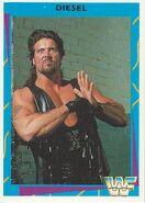 1995 WWF Wrestling Trading Cards (Merlin) Diesel 15