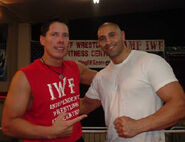 Fady & Kevin Knight at IWF