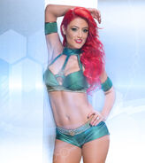 Eva Marie Ready For Battle 01