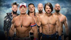 BG 2016 6 man tag match
