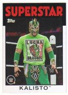 2016 WWE Heritage Wrestling Cards (Topps) Kalisto 20