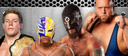 F4W10 Mysterio vs. Show vs. Punk vs. Swagger