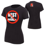 The Authority NOT Best For Business T-Shirt women