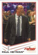2013 WWE (Topps) Paul Heyman 28