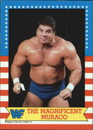 1987 WWF Wrestling Cards (Topps) The Magnificent Muraco 16.