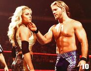 Chris Jericho & Trish Stratus