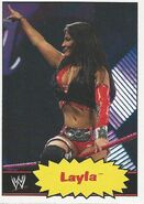 2012 WWE Heritage Trading Cards Layla 24