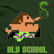Jake Roberts Old School T-Shirt