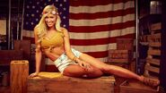 Summer Rae July 4th WWE Photo Shoot