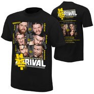 NXT TakeOver Rival 2015 Event T-Shirt