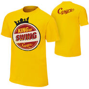 Cesaro King of Swing yello T-Shirt
