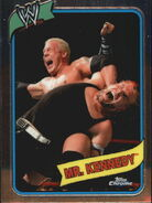 2008 WWE Heritage III Chrome Trading Cards Mr. Kennedy 51