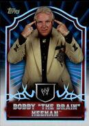 2011 Topps WWE Classic Wrestling Bobby The Brain Heenan 81