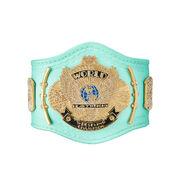 WWE Blue Winged Eagle Championship Mini Replica Title Belt