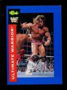 1991 WWF Classic Superstars Cards Ultimate Warrior 114