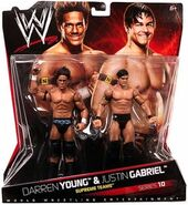 WWE Battle Packs 10 Justin Gabriel & Darren Young