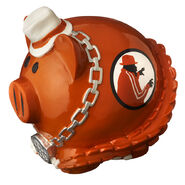 Brodus Clay Piggy Bank