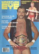Wrestling Eye - October 1986